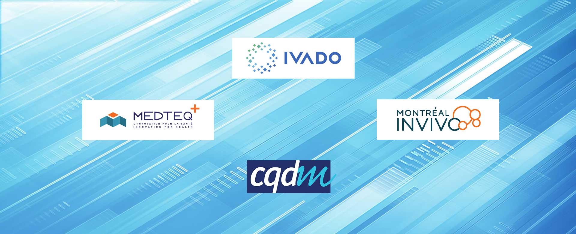 IVADO-Partnership-CQDM-Montreal-InVivo-MEDTEQ+